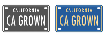California CA Grown