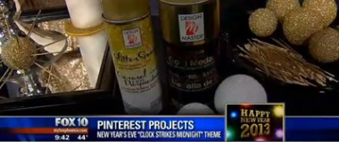 FOX10 Phoenix – Decorations for a Festive New Year's Eve Party