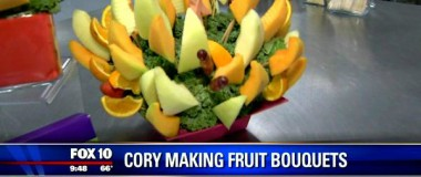 FOX10 Phoenix with Cory McCloskey – Fruit Bouquets