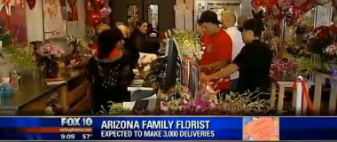 Valentine's Day is Game Day for Valley Florists