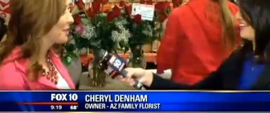 FOX10 Phoenix – Valley Florists Staying Up Late to Prep for Valentine's Day Deliveries